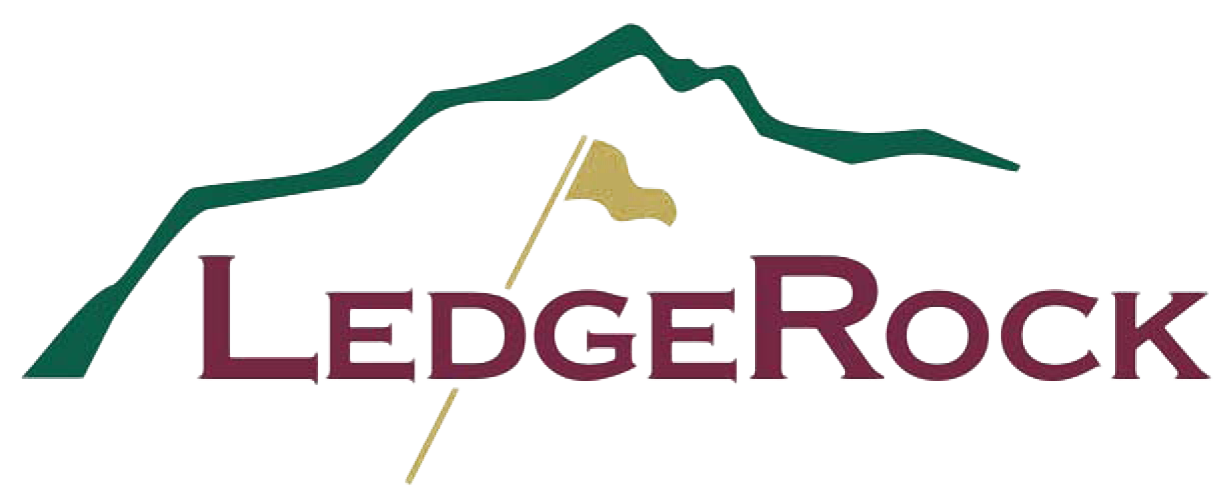 LedgeRock Golf Club logo
